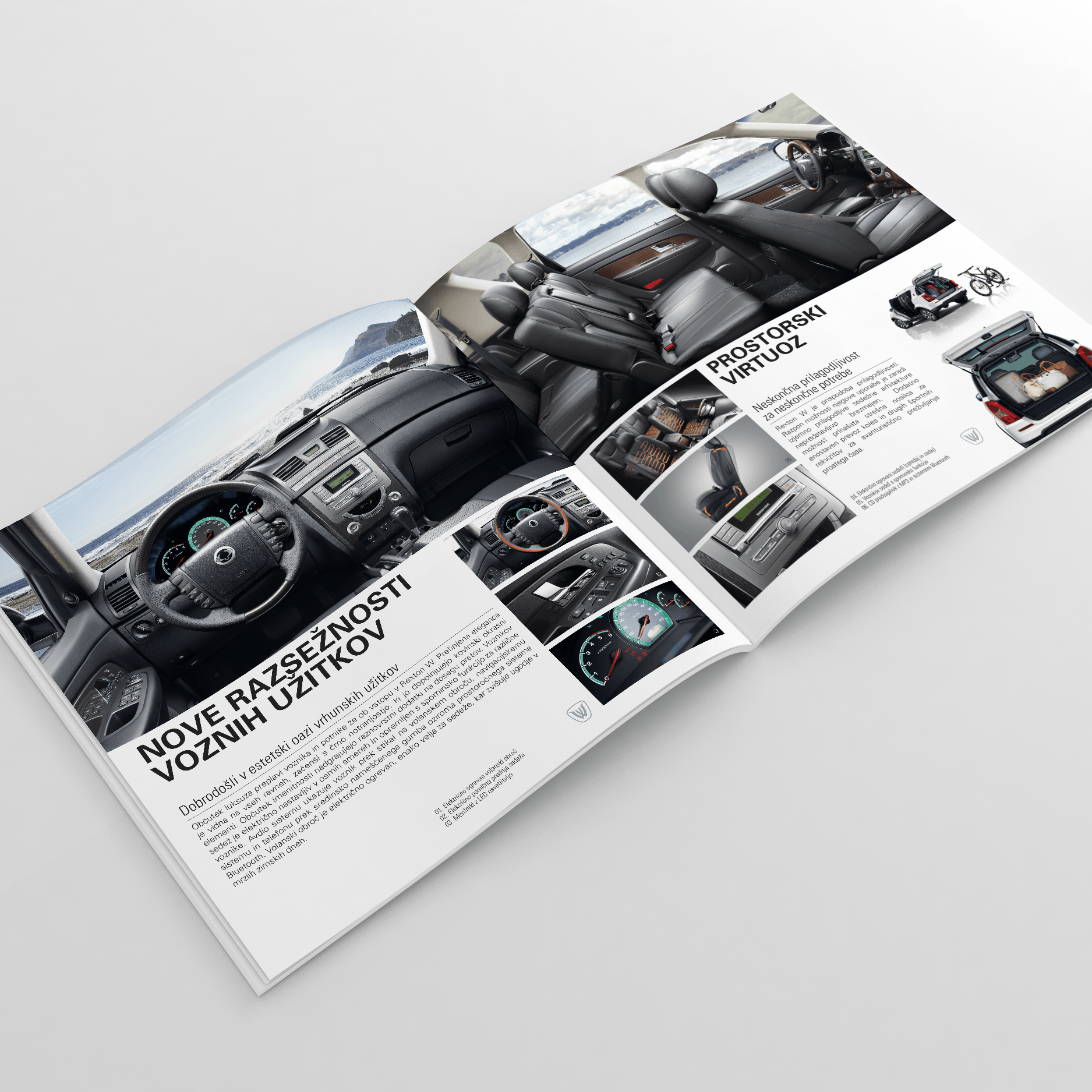 Tisk brošure - Volvo