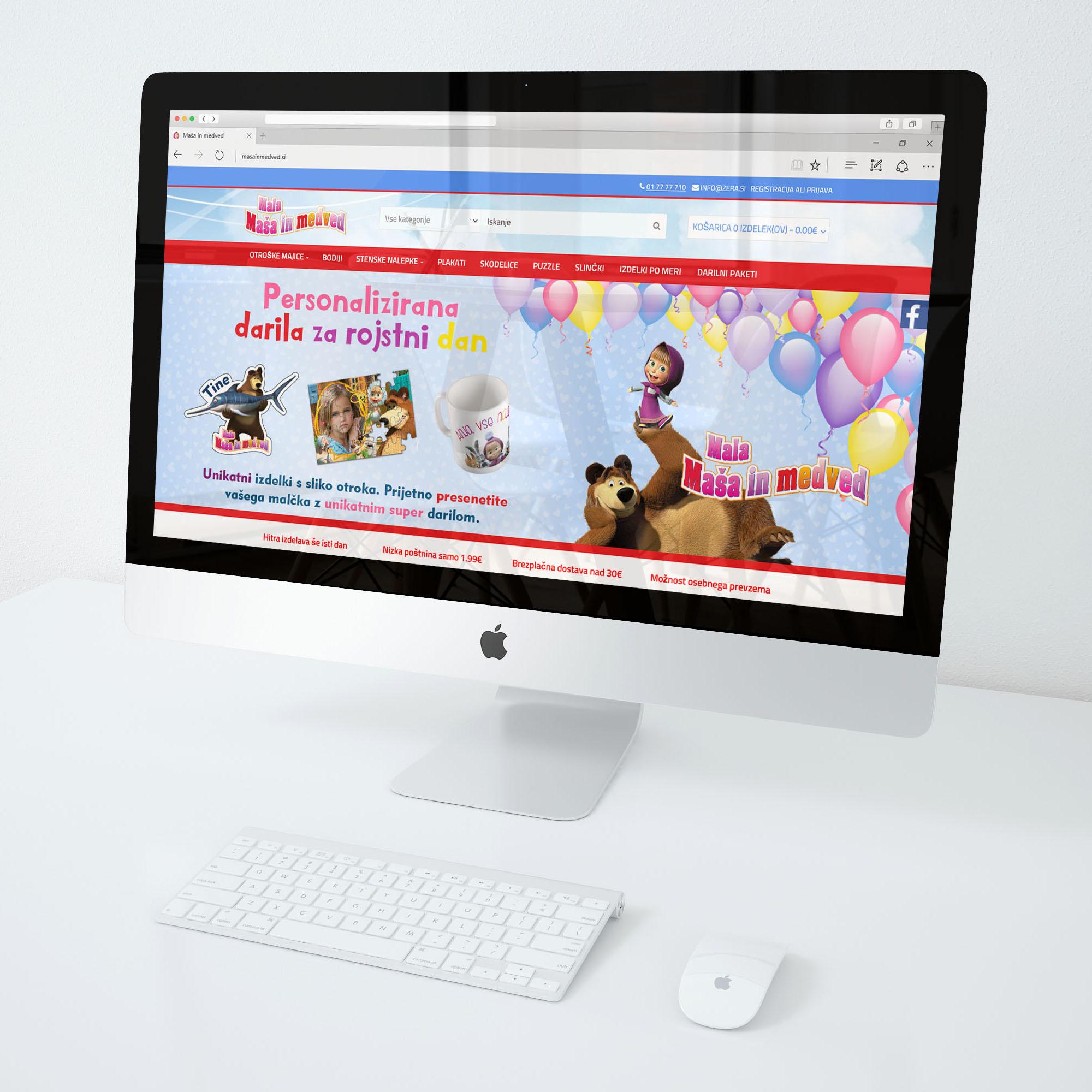 Grafično oblikovanje spletne strani