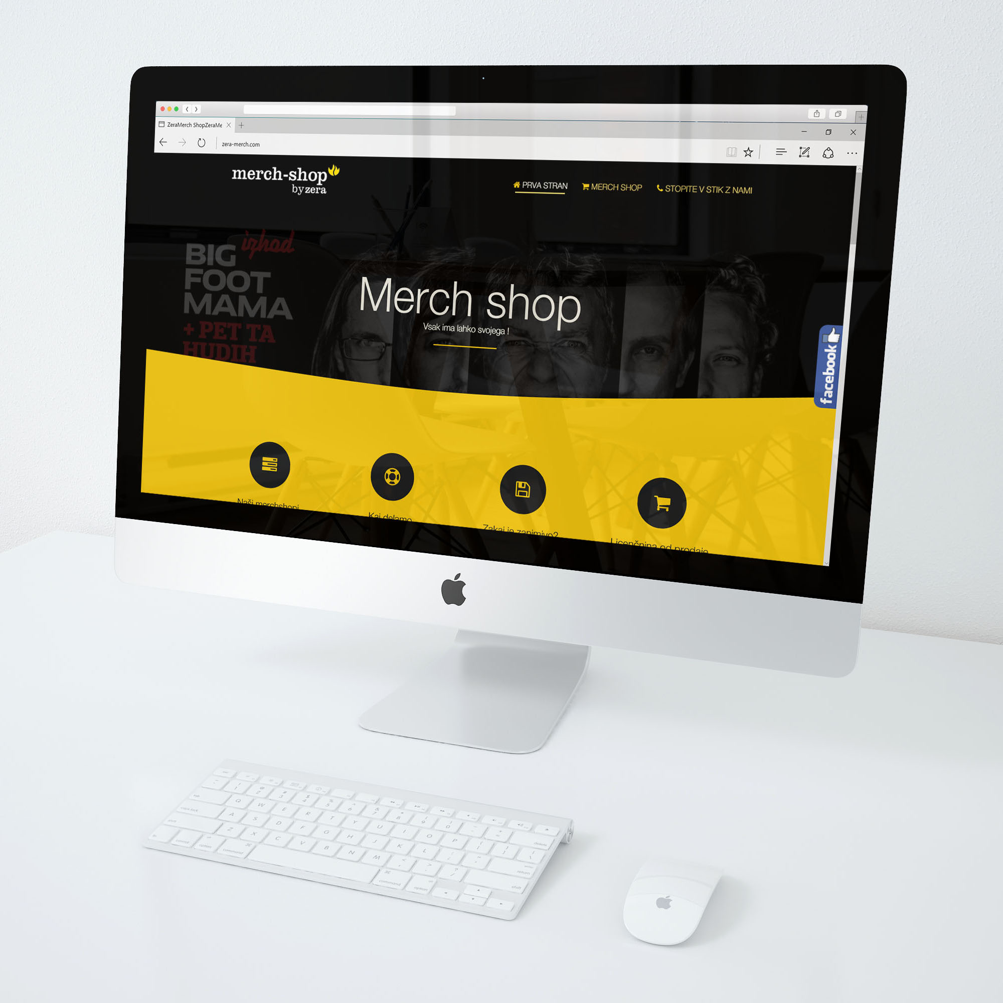 MerchShop - Predstavitvena stran