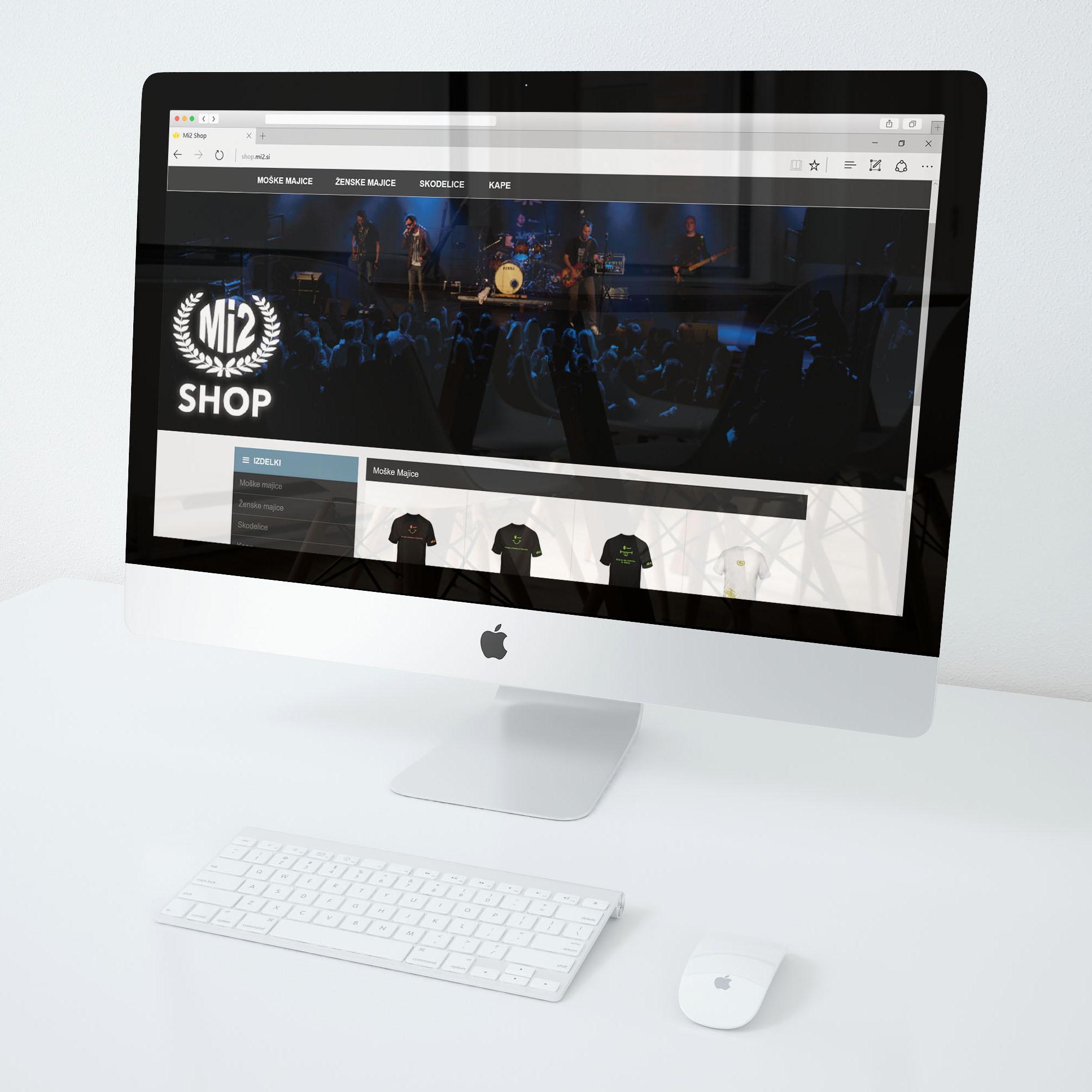 Izdelava spletne trgovine - Mi2