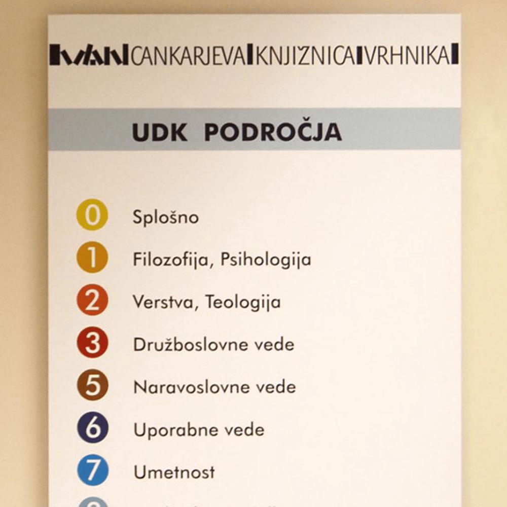 Izdelava info table