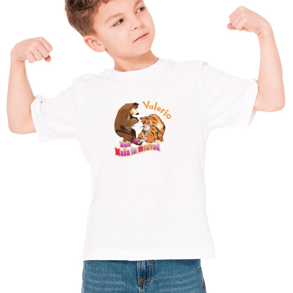 Otroška majica z imenom