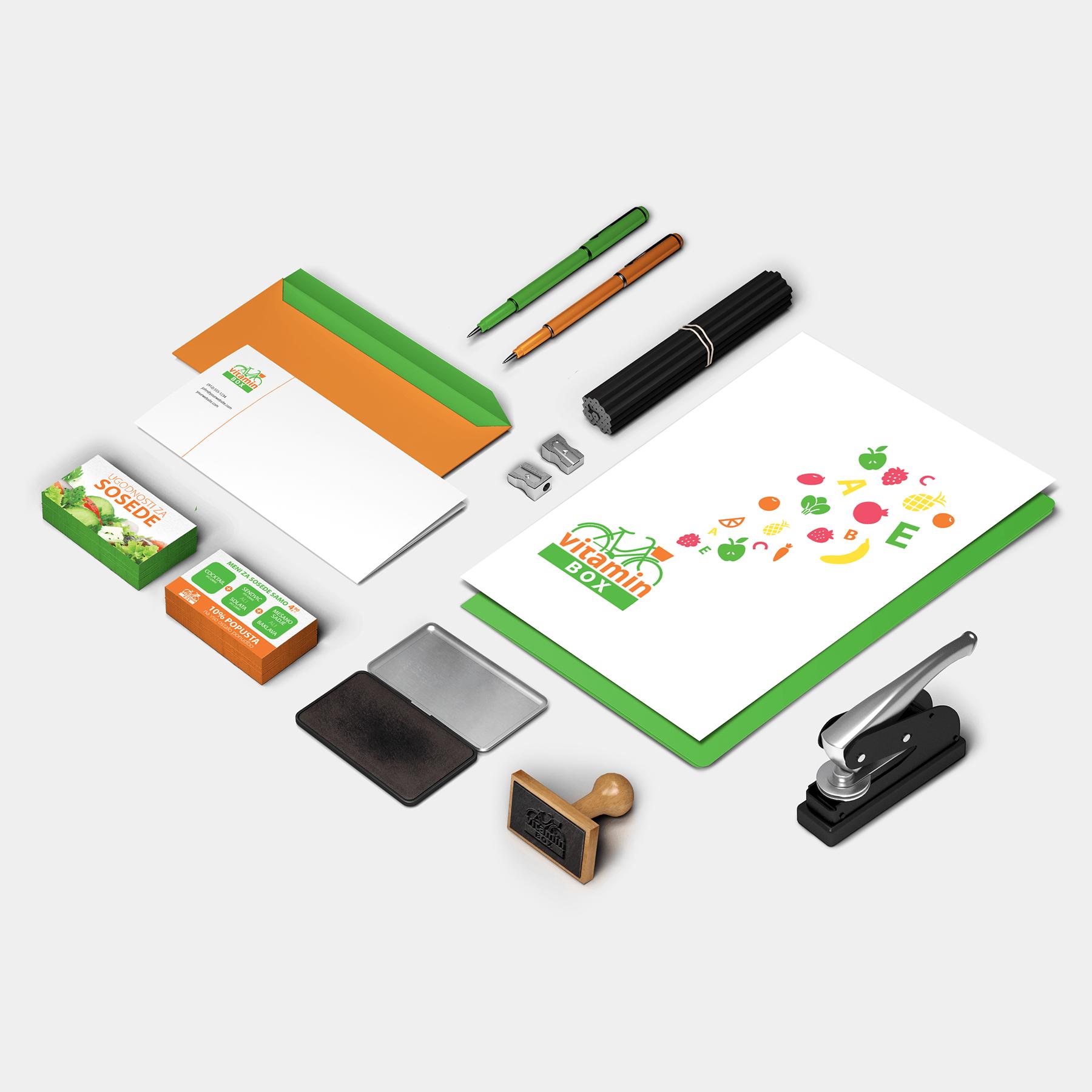Oblikovanje CGP - Vitamin Box